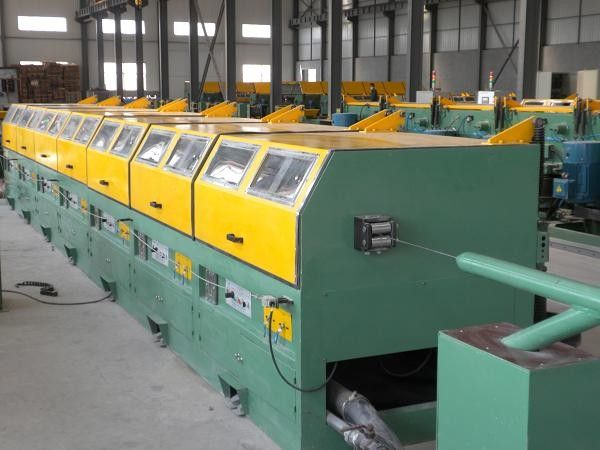 2 Wheel Barrow Wire Mesh Manufacturing Machine , Industrial Wire Processing Equipment
