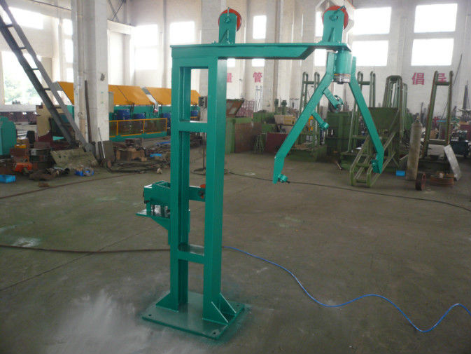 Industrial Winding Wire Machine Long Life Span , Vertical Reel Spooling Machine For Wire