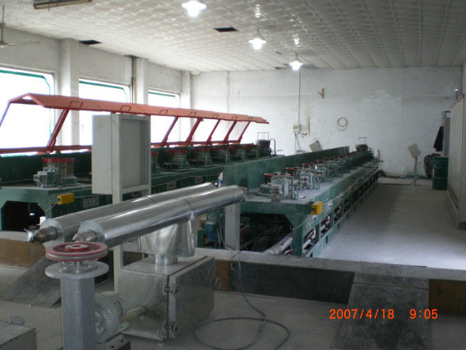 Stainless Steel Wire Drawing Die Polishing Machine With Pneumatic Break / EM Break